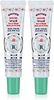 Smith's Rosebud Perfume Co. Minted Rose Lip Balm in a Tube .5 oz - 2-Pack