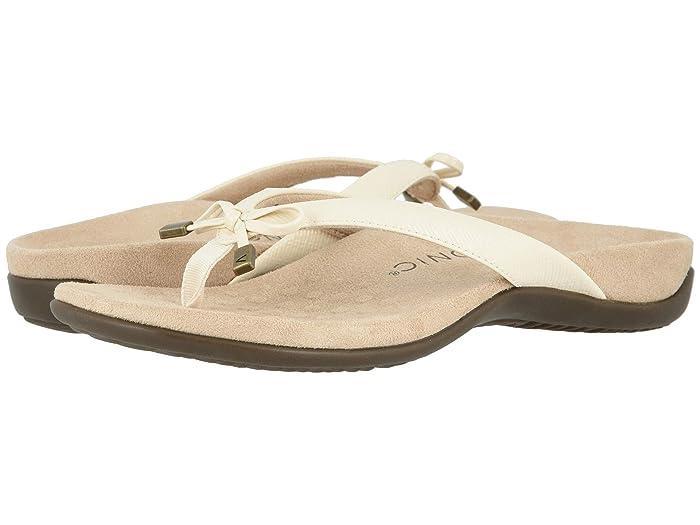 VIONIC  Bella II (Cream Woven) Womens Sandals
