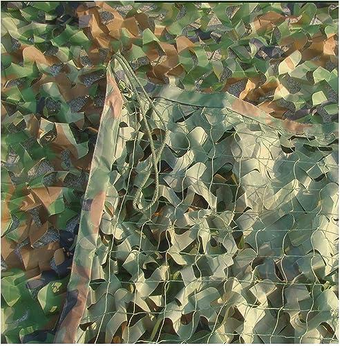 Filet de camouflage en plein air, Prougeection contre le soleil Prougeection pare soleil pour voiture Couverture anti poussière Chasse Tir Jeu de paintball Photographie Observation des oiseaux Camo Net po