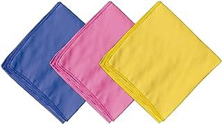 Spotzero by Milton Super Soft Microfiber Cloth, Set Of 3, Multicolour