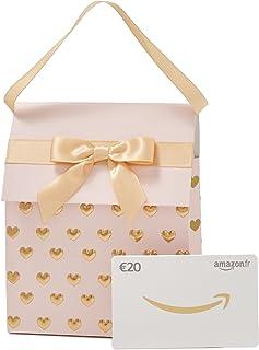Carte cadeau Amazon.fr - Dans un Sac cadeau rose et doré
