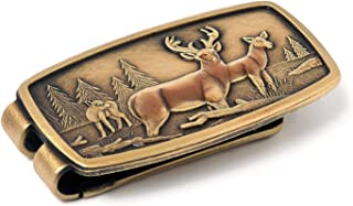 Anson Enamel Deer Money Clip Made in the USA