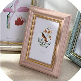5 Sizes Rectangle Pictures Frames Resin Desk Table Decor Photo Frame with Transparent Organic Glass Wedding Family Photo Frames,Meilifenhongse,8 inch