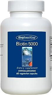 Allergy Research Group -Biotin 5000 mcg 60 caps