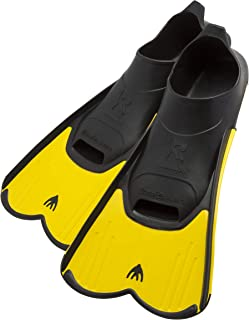Cressi Short Full Foot Pocket Fins for Swimming or Training in the Pool and in the Sea |..