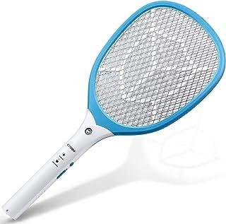 CYOUH Raqueta Mosquitos Recargable, Raqueta Mosquitos Electrica con Luces USB Recargable Asesino ...
