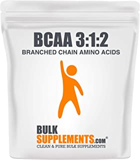 Bulksupplements.com BCAA 3:1:2 (Branched Chain Amino Acids) Powder - BCAAs Amino Acids - Workout Amino Chains Supplement (1 Kilogram)