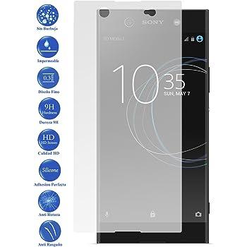 REY 3X Protector de Pantalla para Sony Xperia XA1 Ultra, Cristal ...