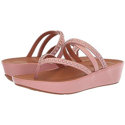 FitFlop Linnytm Crisscross Toe-Thong Sandals Crystal (Dusky Pink) Women