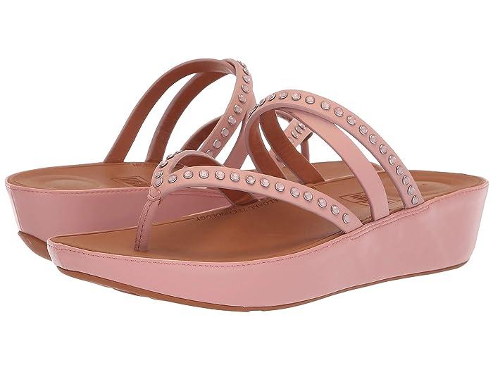 a631cd31ebb0c FitFlop Linny™ Crisscross Toe-Thong Sandals - Crystal | 6pm