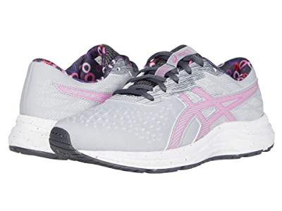 ASICS Kids GEL- Excite 7 (Little Kid/Big Kid) (Piedmont Grey/Dragon Fruit) Girl