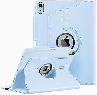 Fintie Hülle für Neu iPad Air 10,9' 2020 (Neuste Modell, 4. Generation) mit Pencil Halter   360 Grad verstellbare Schutzhülle Cover mit mit Standfunktion, Auto Sleep/Wake, Himmelblau