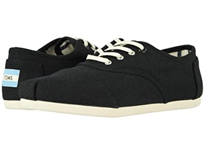 TOMS Cordones Cloudbound (Black Heritage Canvas) Women