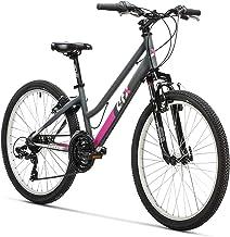 """AFX Bicicleta MTB Junior Mixta 24"""" Rohan, Color Gris/"""