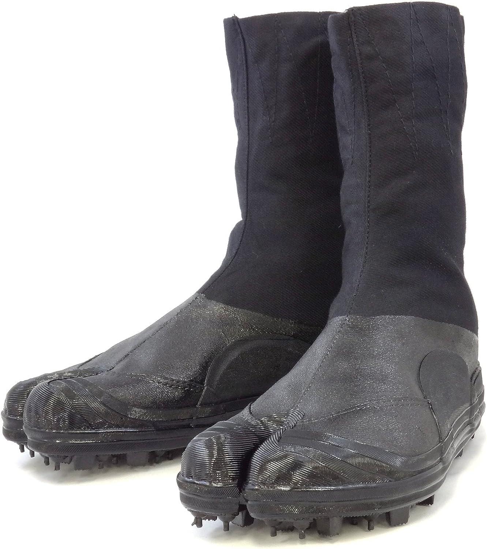 Rikio Spiked Tabi shoes (shoes Ninja a Crampons) (JP 26.5cm US Men Size 8.5 Women Size 9.5)