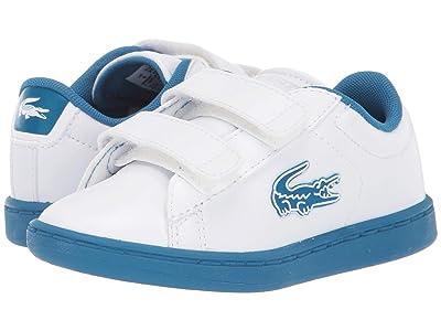 Lacoste Kids Carnaby Evo 319 1 (Toddler/Little Kid) (White/Blue) Kid