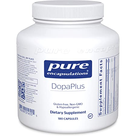 Pure Encapsulations DopaPlus   PureSYNAPSE Supplement to Support Dopamine Production, Daily Mental Function, and Sharpness*   180 Capsules