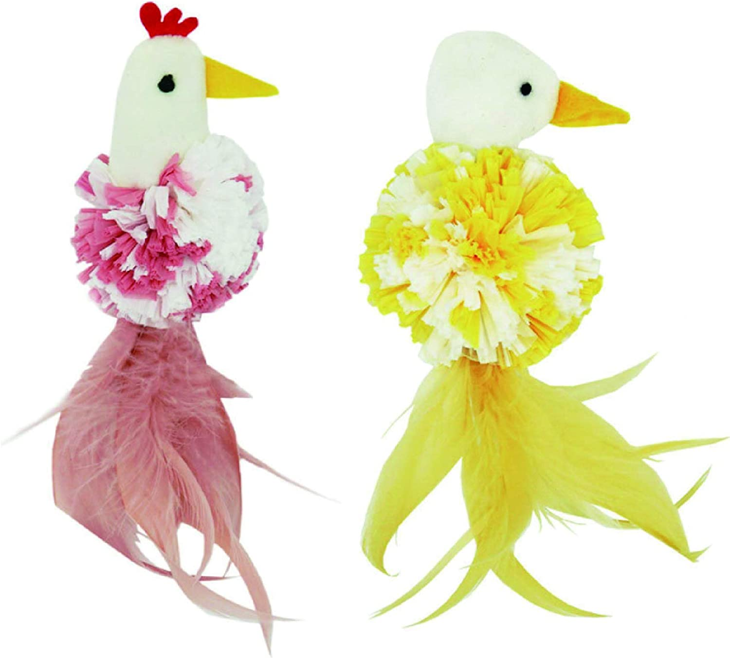 Moonshuttle Cute Nippon regular agency Chick Goose Catnip USDA Cat Special Campaign Toy O Interactive