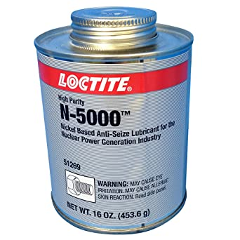 Loctite 51269 LB N-5000 High Purity Anti-Seize Brush Top Can, 1 lb.: image