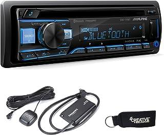 $219 » Alpine CDE-172BT CD Receiver with Bluetooth & SiriusXM Satellite Tuner