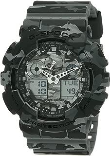 Mens G SHOCK Analog-Digital Sport Quartz Watch (Imported) GA-100CM-8A