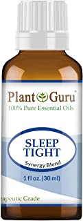 Sleep Tight Essential Oil Blend 1 oz / 30 ml 100% Pure Undiluted Therapeutic Grade. Good Night Aid, Relaxation, Depression, Stress, Anxiety Relief, Mood, Uplifting, Calming, Aromatherapy