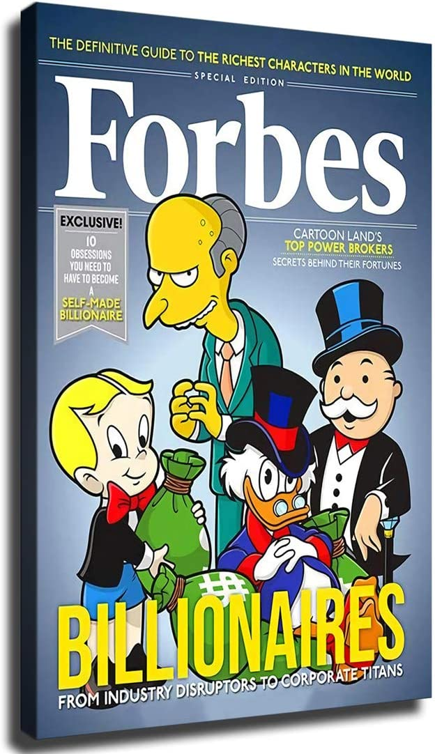 IFUNEW Burns Scrooge McDuck Richie Mr. 『1年保証』 Monopoly Wall and Rich 年中無休