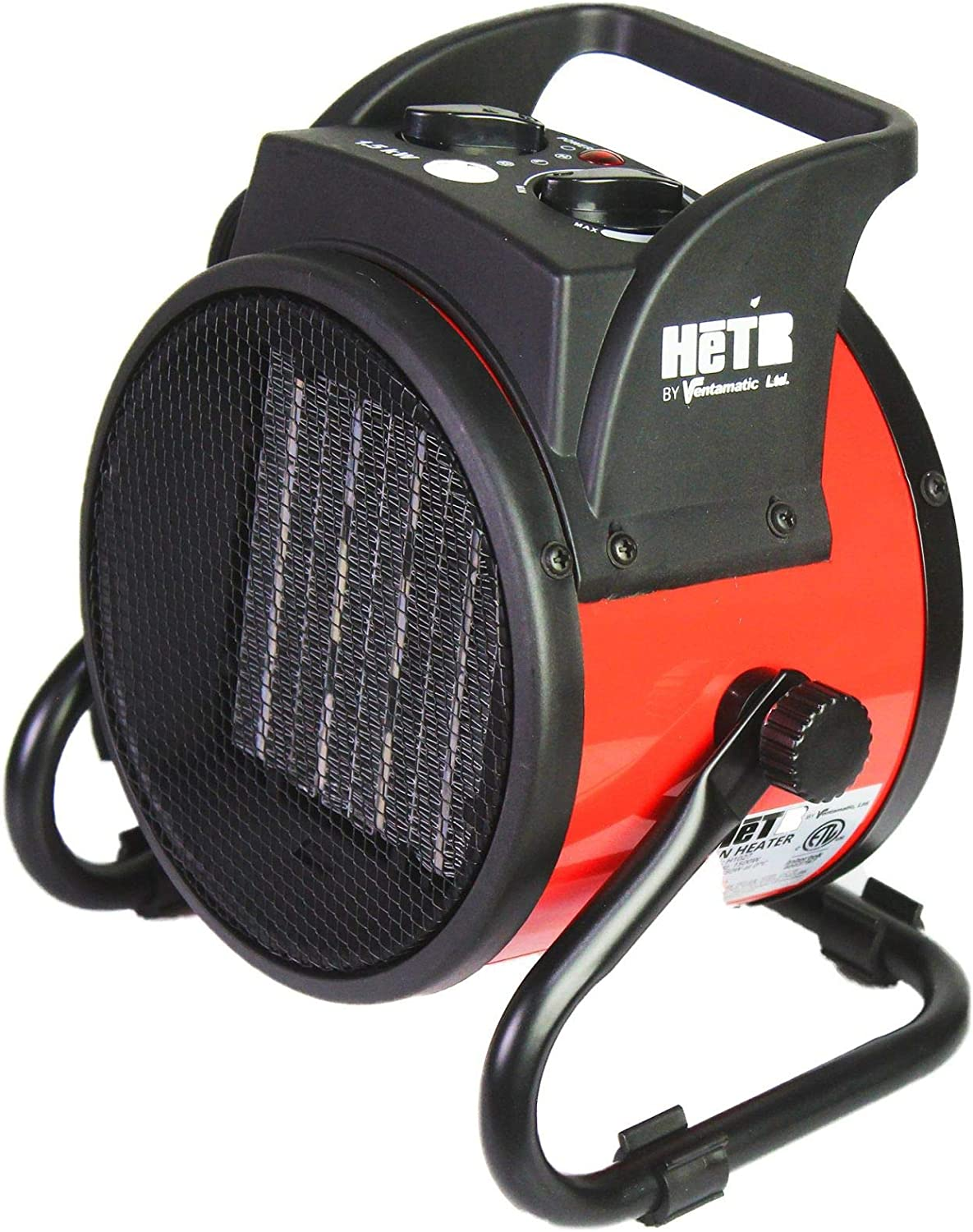 Regular discount HeTR Portable Space New product Heater 1500 Cera Forced Air with Watt