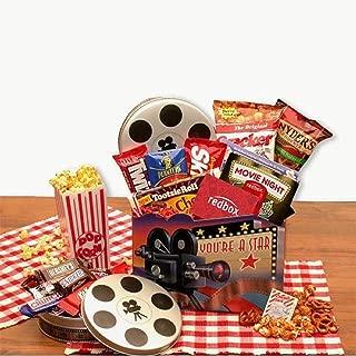 Movie Night Gift Superstar Movie Night Gift Basket w/Redbox Gift Card