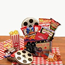 Movie Night Gift Superstar Movie Night Gift Basket w/Redbox Gift Card