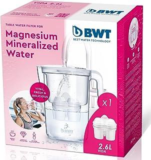 BWT carafe purificatrice d'eau vie–2.6L–No + Filtre