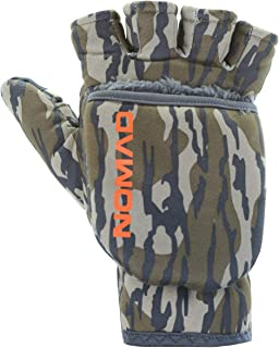 NOMAD Men's Harvester Water & Windproof Hunting Glove with Magnetic Flip Mitt