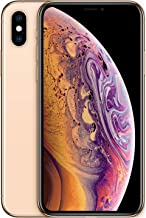 Apple iPhone XS (64GB, Gold) [Carrier Locked] + Carrier Subscription [Cricket Wireless] ($10/month Amazon gift card credit)