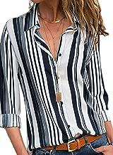 Best striped button up shirt womens Reviews