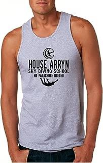 Men's Tank Top House Arryn Sky Diving School Trendy Humor