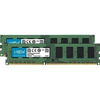 Crucial CT2K102464BD160B 16GB (2 x 2GB) PC3-12800 1600MHz DDR3 240-Pin DIMM Desktop Memory