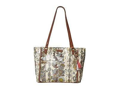 Sakroots Metro Satchel (Sunshine Spirit Desert) Satchel Handbags