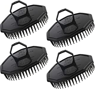 4pcs Shampoo Brushes, Segbeauty Hair Scalp Massager Shampoo Comb with Soft Pins Detangling Brush Anti-dandruff Thin Thick Wet Dry Hair Washing Comb for Pets Men and Women