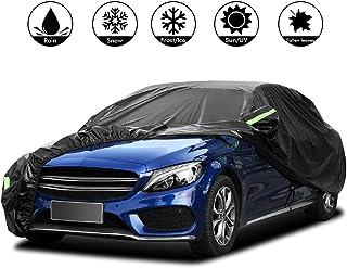 AUDI A5 Sportback Premium Completamente Impermeable Coche Cubierta De Algodón Forrado De Lujo
