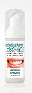 Alightener Foam - Whiten your teeth while wearing a mouth tray or a clear dental aligners [ Invisalign (TM) type retainer ] - Mouth Trays Included