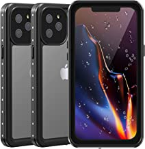 Twosnails For iPhone 12 Pro Max Waterproof Case,Fully Sealed And Comes With a Built-in Screen Protector,IP68 Waterproof Clear Back Shockproof Dirtproof Case For iPhone 12 Pro Max 5G 6.7 Inch