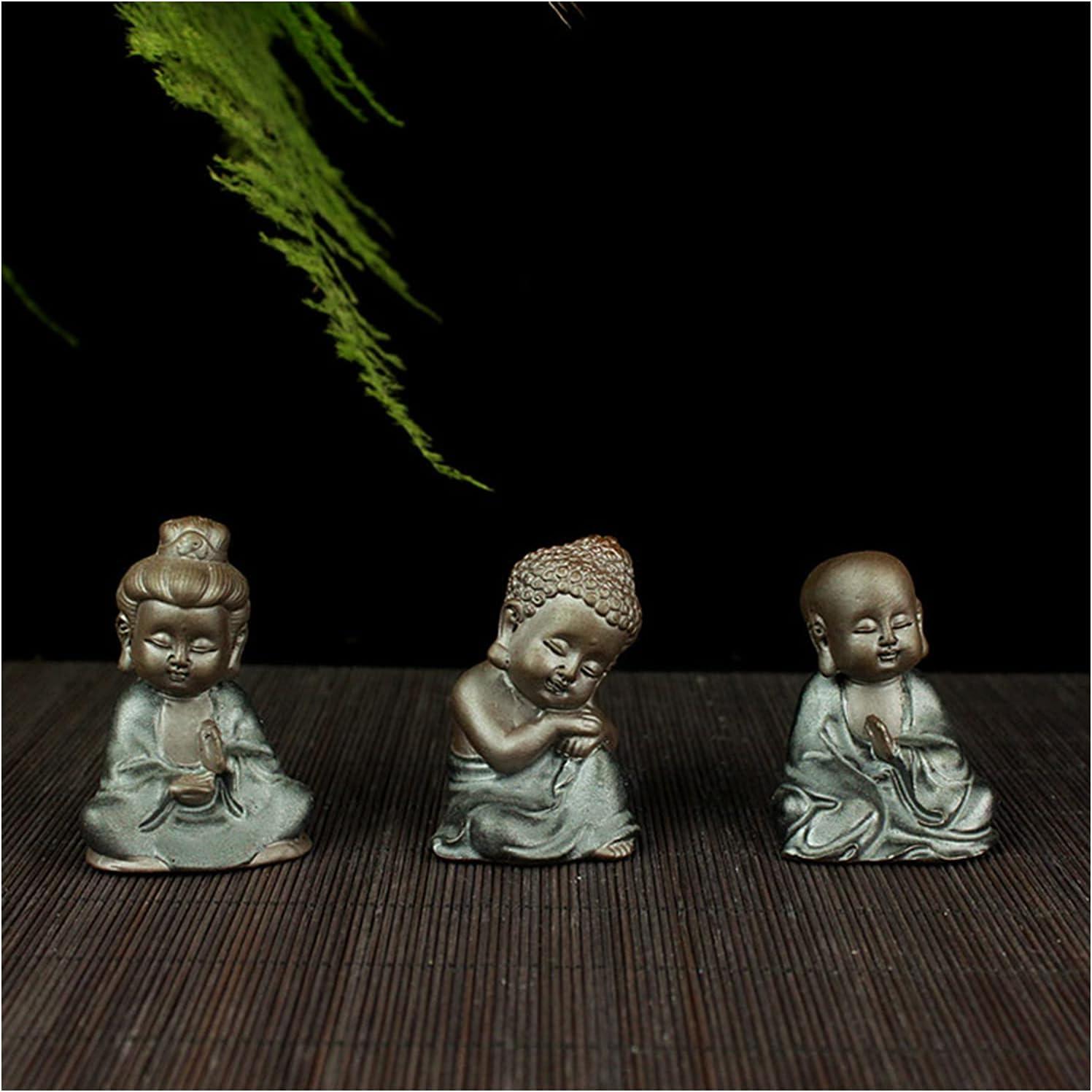 MOZHIXUE Buddah Ranking TOP9 Statute Small cheap Buddha Statue Cute X 4 Traditional