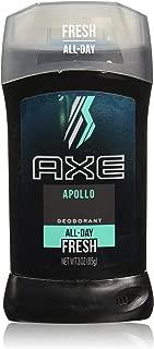 Axe Fresh Deodorant Stick, Apollo 3 oz (Pack of 4)