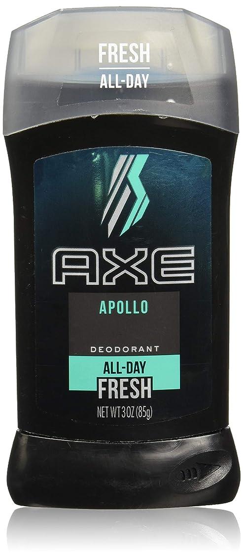 懐疑論寄稿者実用的AXE Deodorant Stick for Men, Apollo, 3 oz(アックス アポロ 85g)