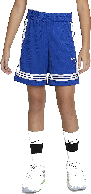 Nike Girls Fly Crossover Training Shorts (Medium) Royal Blue