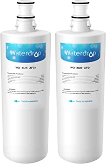 Waterdrop 3US-AF01 Undersink Water Filter, Compatible with Filtrete Standard 3US-AF01, 3US-AS01, Aqua-Pure AP Easy C-CS-FF, Whirlpool WHCF-SRC, WHCF-SUFC, WHCF-SUF, Pack of 2