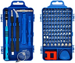 Screwdriver Set 110 in 1,Professional Screwdriver Magnetic,Rimposky Multi-function Repair Tool Kit Compatible with Cell Ph...