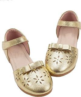 4f882eed Sandalias Infantiles Baotou Niña Piel Genuina Zapatos De Princesa Una  Palabra Hebilla Zapatillas De Ballet Piel