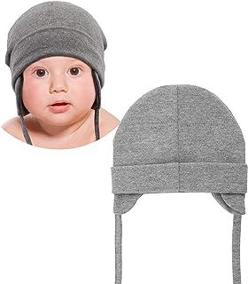 DRESHOW Unisex czapka dla niemowląt, słodki niedźwiedź, Earflap Beanie, ciepła czapka na jesień i zimę