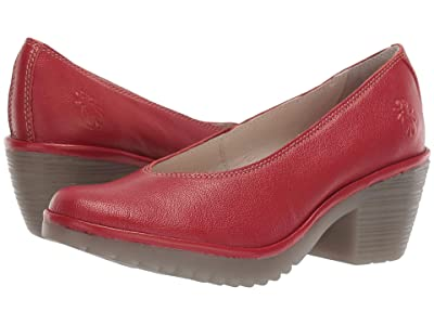 FLY LONDON WALO988FLY (Lipstick Red Mousse) Women